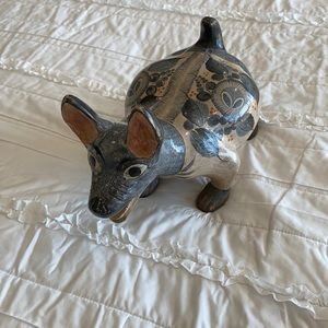 Vintage Mexican Painted dog